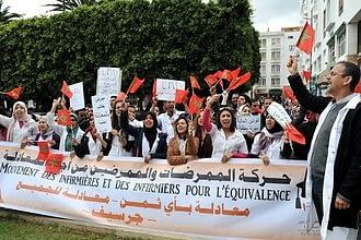 Photo of احتجاجا على ضعف الأجور..ملائكة الرحمة يخوضون إضرابا وطنيا