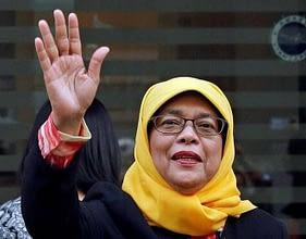 Photo of للمرة الأولى وبدون انتخابات.. امرأة مسلمة من الأقلية رئيسة لسنغافورة