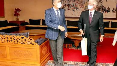 Photo of الحموشي يستقبل بالرباط سفير الولايات المتحدة الأمريكية بالمملكة