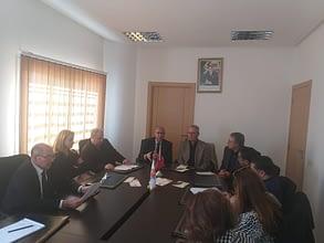 Photo of نحو عقد اتفاقية شراكة بين التعاضدية العامة لموظفي الإدارات العمومية ونادي ( ليونز المغرب )