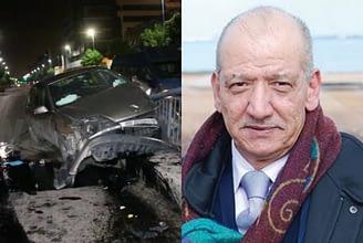 Photo of حسين بنياز ينجو من حادث سير مميت بالدار البيضاء